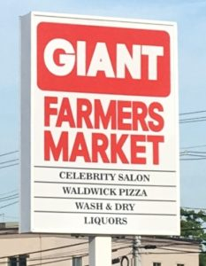 GIant-Sign