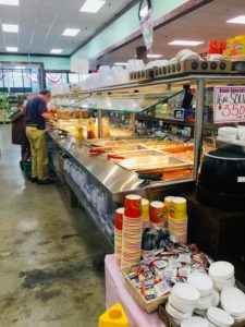 Hot and Cold Buffet / Salad bar at the Giant Farmers Market in Waldwick, NJ!