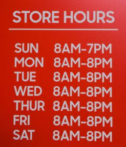 Store Hours at the Giant Farmers Market in Waldwick, NJ!