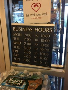 Wolfsons Hours - But call for holiday hours