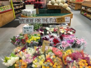 Great prices on the flower selection.